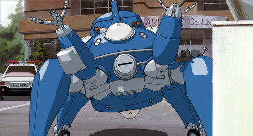 Tachikoma Welcoming