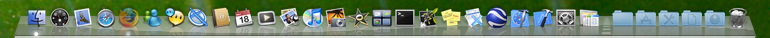 Dock in OS X, Leopard