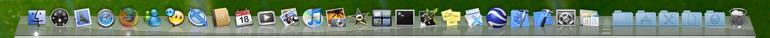 Dock in OS X, Leopard