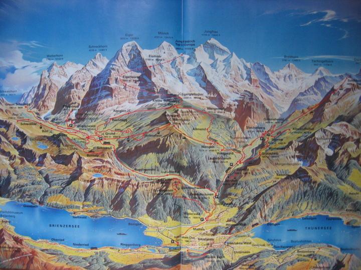 스위스 지도 (Maps of Swiss)