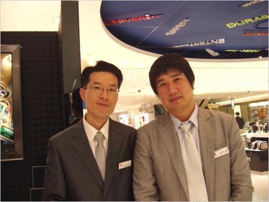 소니 프리미엄 샵 알파군이 만난 신세계백화점 본점 강성현 점장님