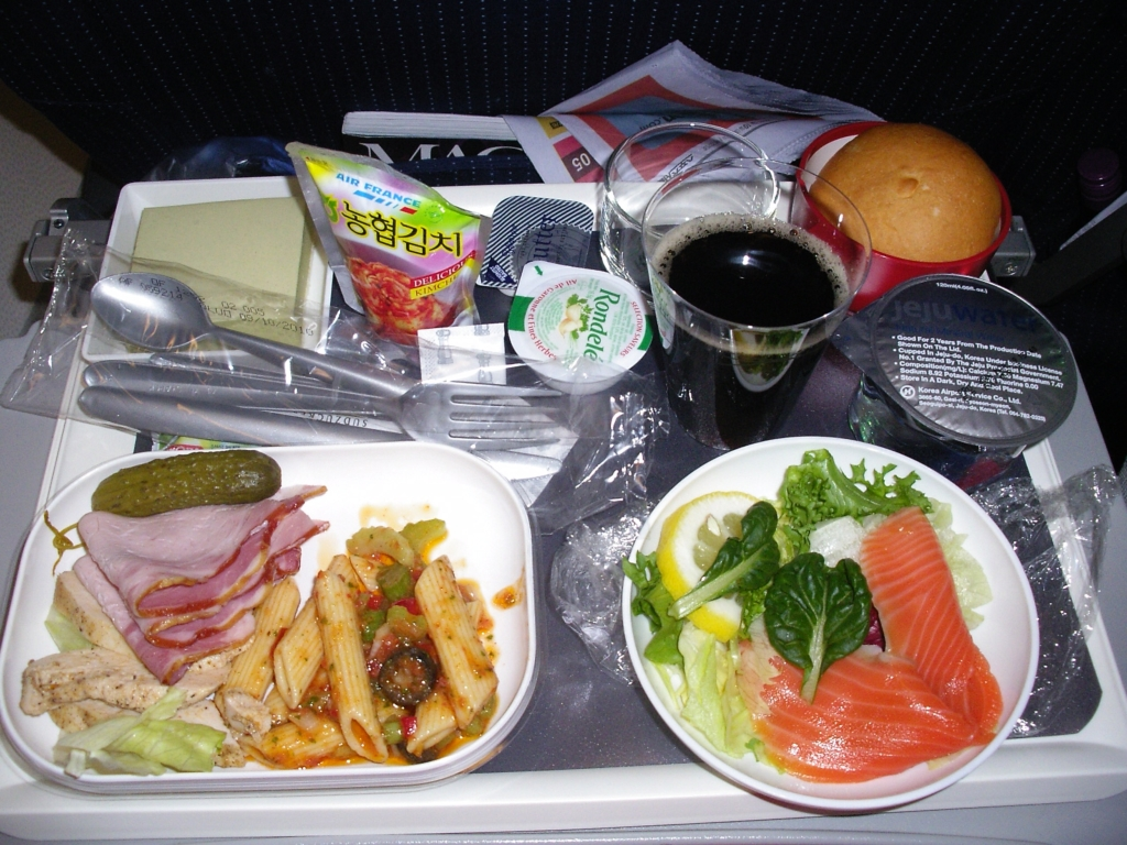 My first 'Air France' meal