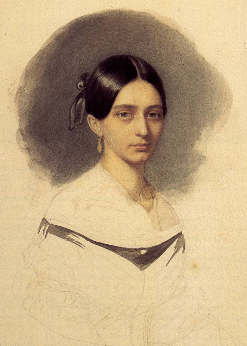 음악가의 초상 - 클라라 바이크 슈만 (Clara Josephine Wieck Schumann)