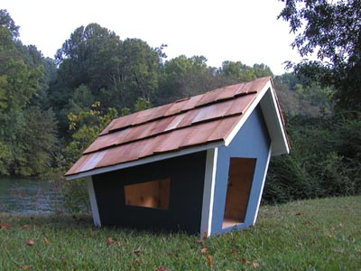 Unique dog house minimalist home design minimalist for Unique minimalist house