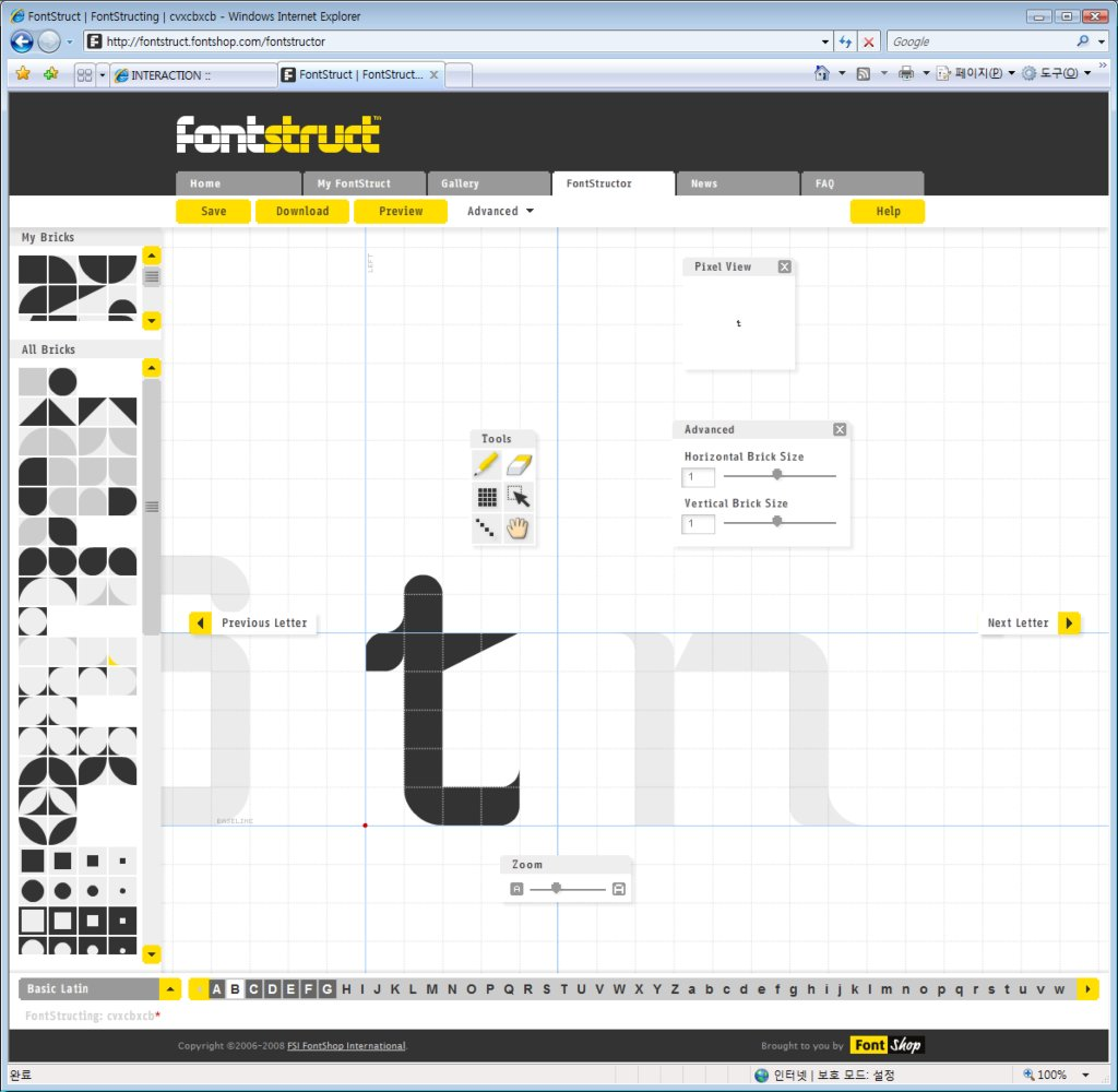 FontStructor from FontStruct.com