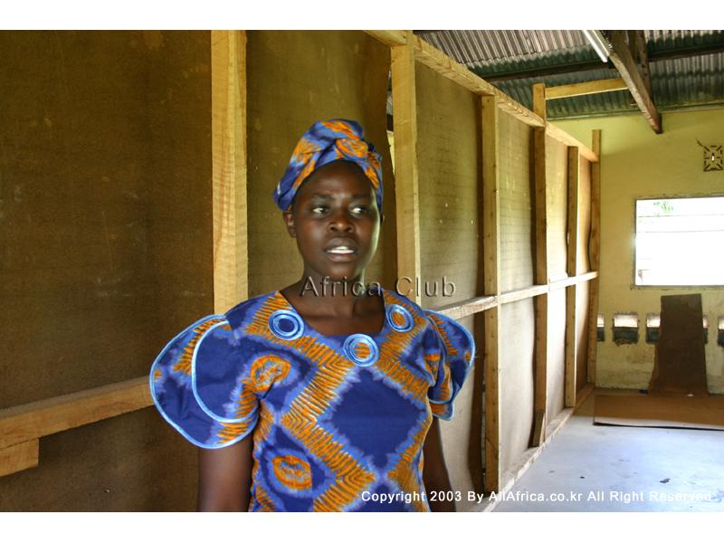 케냐의 미고리 모이수바 여고