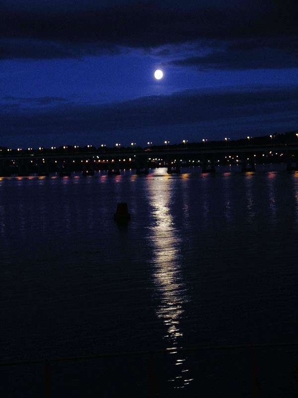Moonlight on River Tay