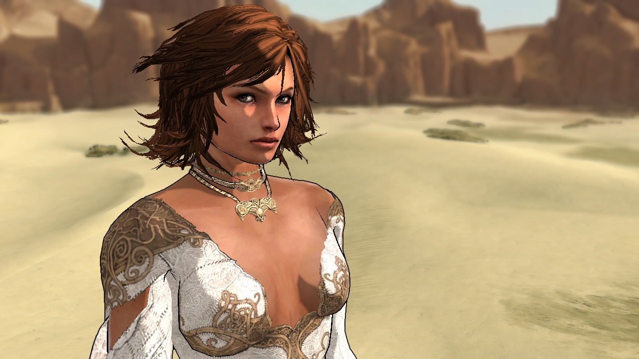 Elika Character from New <Prince of Persia>