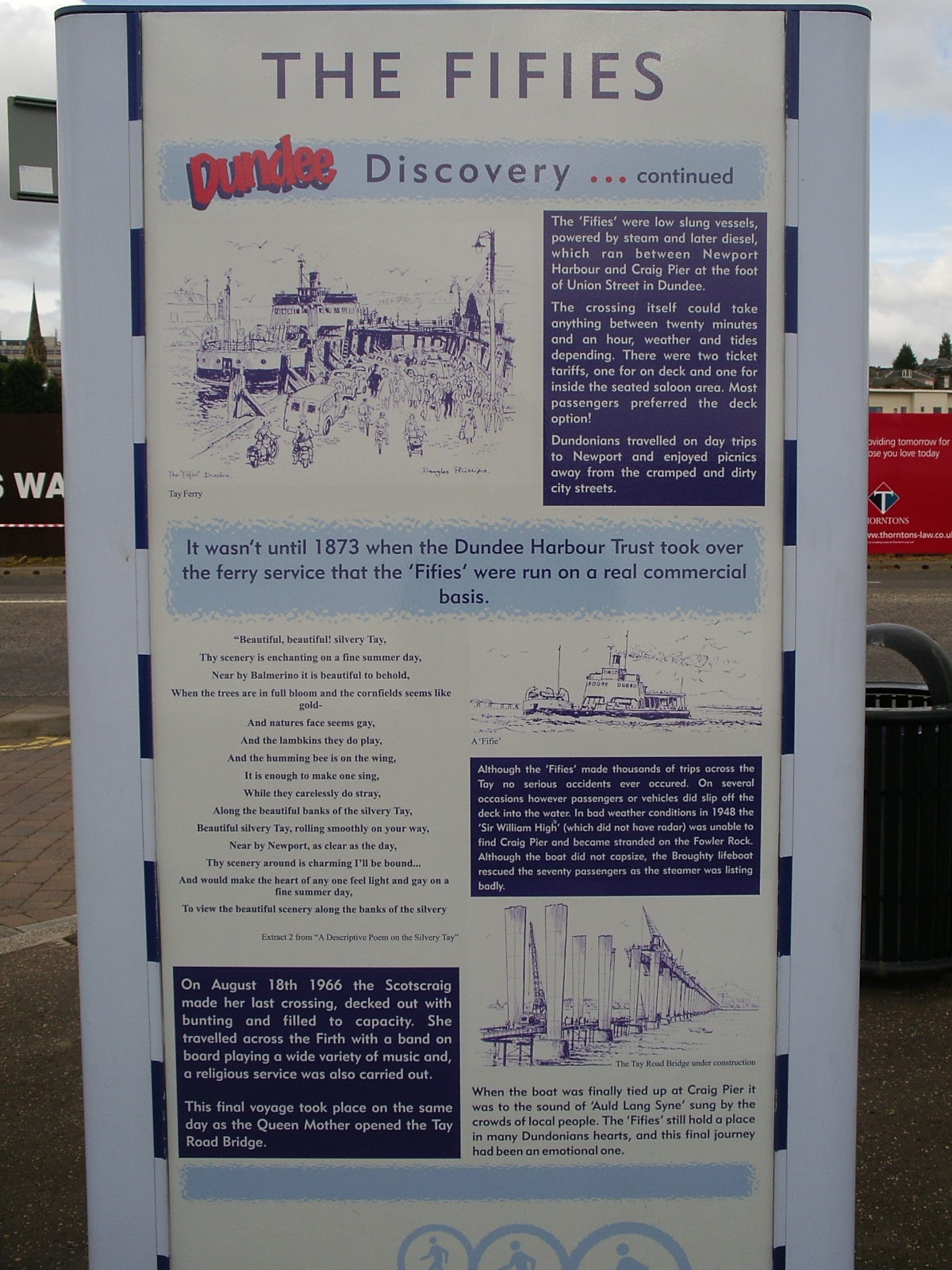 History of Dundee - the Fifies