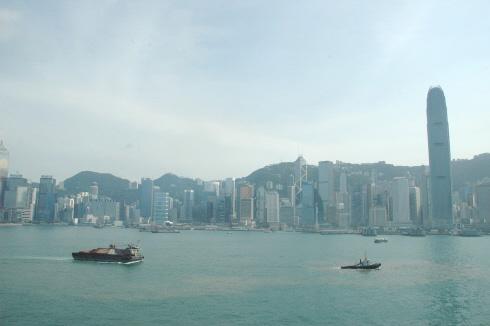 크루즈 슈퍼스타 버고호에서 본 홍콩