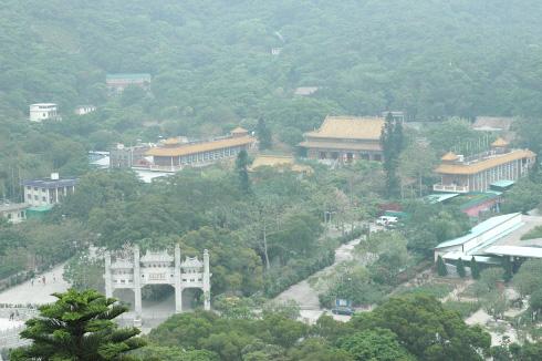 보련사(寶蓮禪寺; 포린사원; Po Lin Monastery)