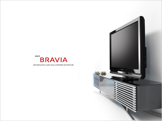 소니 브라비아 TV 광고! 골라보는 재미가 있다!!