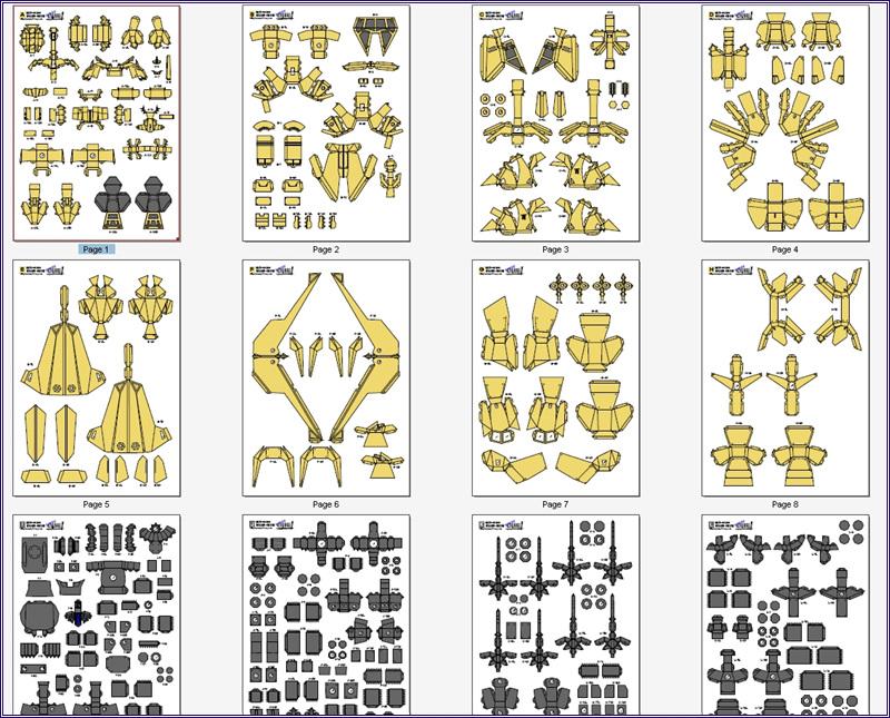 Papercraft Figure