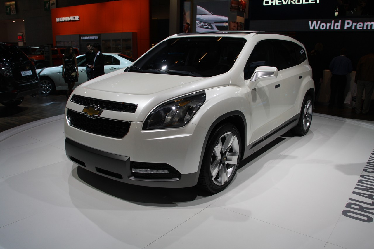 Chevrolet Orlando Show Car Paris 2008